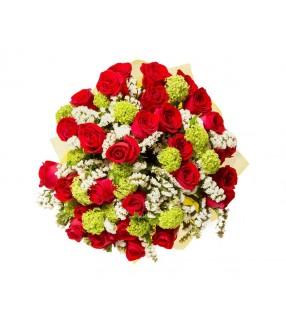 bouquet de roses 18