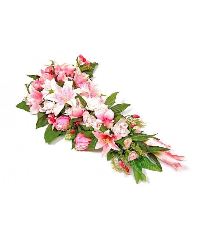 Gerbe rose deuil
