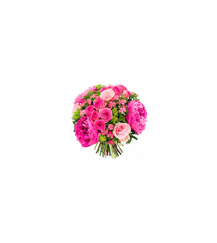 Pivoines et Roses